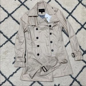 Banana republic trench coat Xs